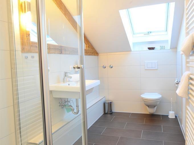 Ferienwohnung Auszeit 3 - Dusche & WC, © Auszeit - Obermaiselstein
