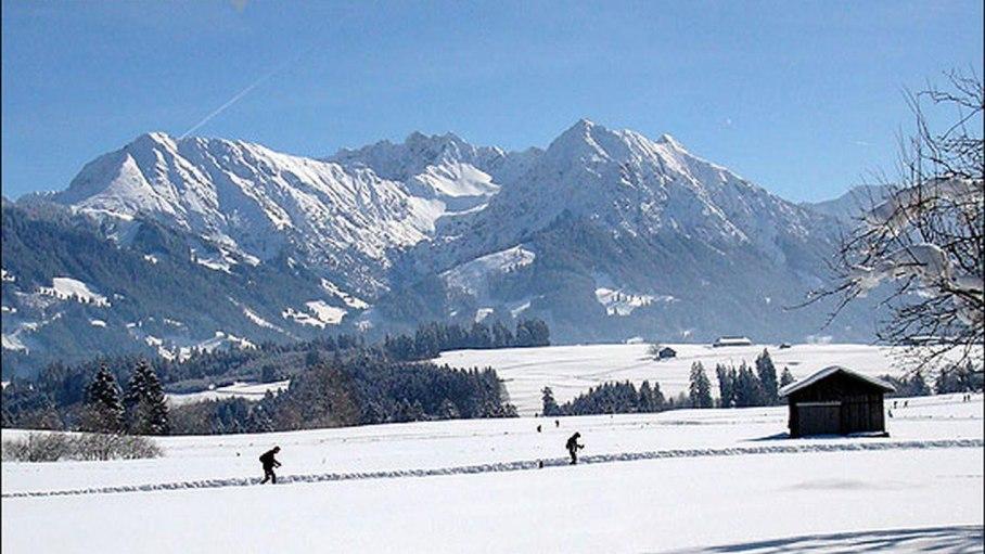 Ferienwohnung 2 - unverbauter Bergblick, © Landhaus Exclusiv - Bolsterlang