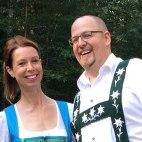Ihre Gastgeber, Melanie und Tobias Mucha, © Berghaus Mucha