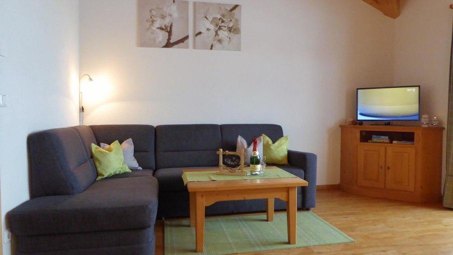 Wohnbereich, © Ferienwohnung Steiner - Bolsterlang