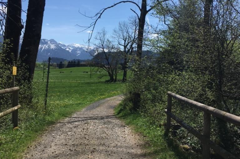 Bolsterlanger Bergblick-Wanderweg von Sonderdorf nach Kierwang