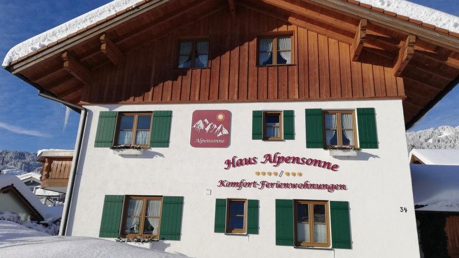 Winter, © Haus Alpensonne - Bolsterlang