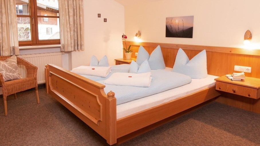 Schlafzimmer Ferienwohnung 2, © Gästehaus Renn