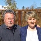 Ihre Gastgeber, Inge und Michael van der Borg