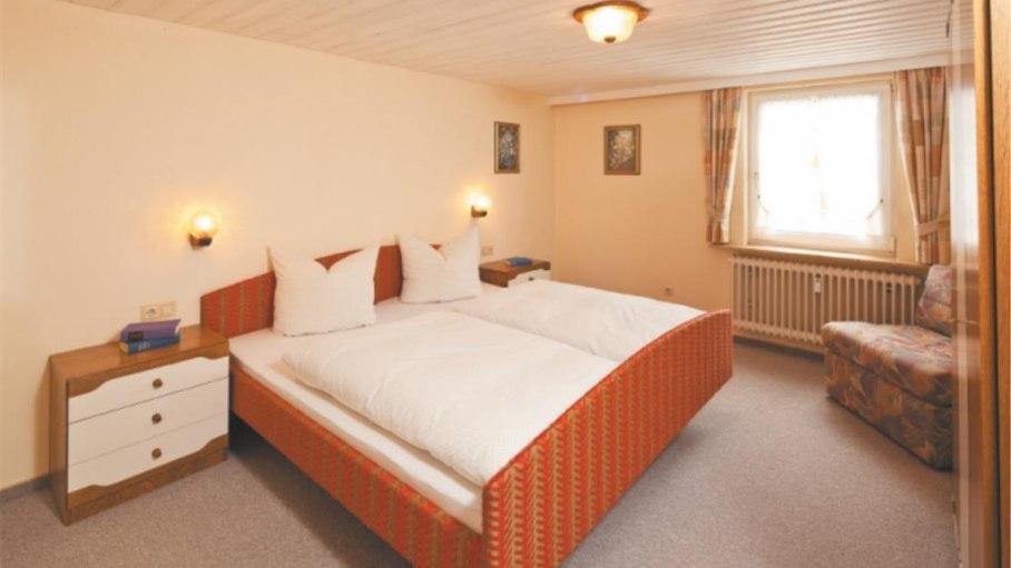 Separates Schlafzimmer - 8 Bolgenstraße, © Alpenstern Ferienwohnungen - Fischen i. Allgäu
