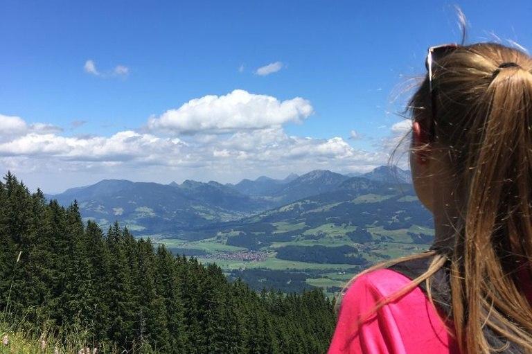 Hörner Panorama Tour - Rundwanderung ab Bolsterlang oder Ofterschwang