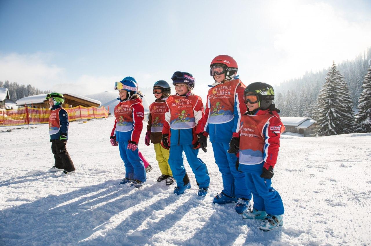 Skischule Grasgehren - Skiurlaub in den Hörnerdörfern im Allgäu, © Tourismus Hörnerdörfer, F. Kjer