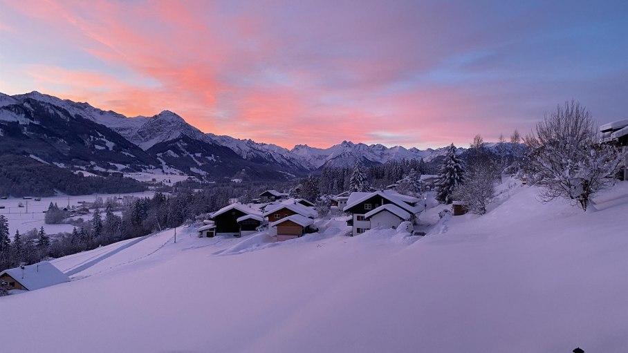 Morgenstimmung im Januar, © S. Busch