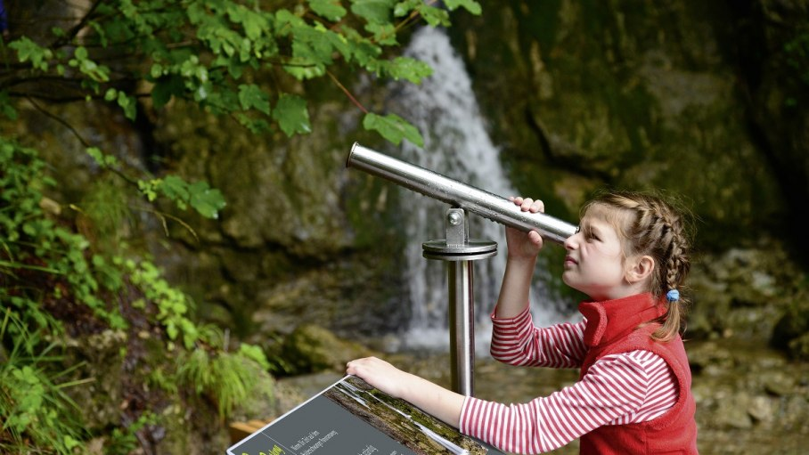 Entdecken auf dem Balderschwanger Zeitweg, © Gästeinformation Balderschwang