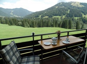 Vom Balkon zum Riedbergerhorn & Gelbhansekopf