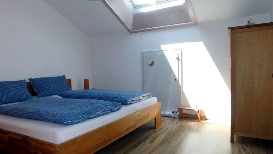 Schlafzimmer, © Ferienwohnung Weiherkopf