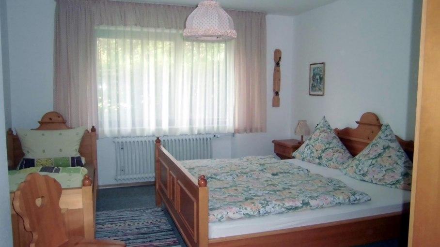 Schlafzimmer, © Ferienwohnung Wannenkopf