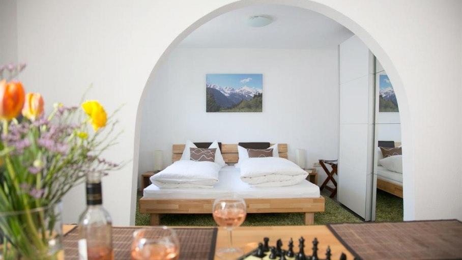 Appartement 10 - Schlafen, © Gästehaus Kanstein - Ofterschwang
