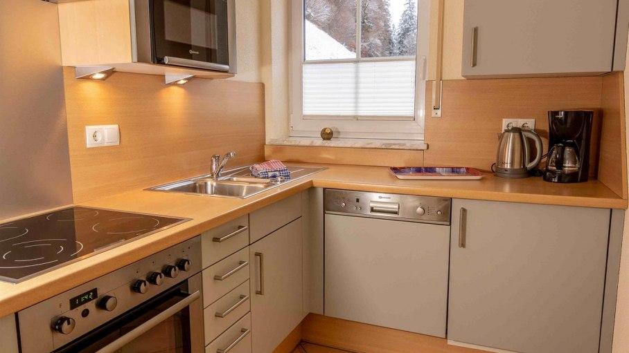 Ferienwohnung 3C - Küche, © Marco Heiderich-Trimborn