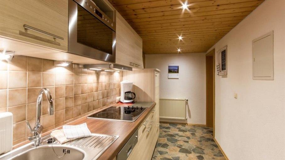 Ferienwohnung Kapplblick - Küche, © Haus Schöll - Bolsterlang