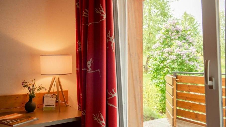 Familien-Appartement Süd - Gartenzugang, © Gästehaus-Pension Hörnerblick