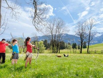 3D Erlebnis Bogenparcours im Tal in Bolsterlang, © Tourismus Hörnerdörfer, ProVisionMedia