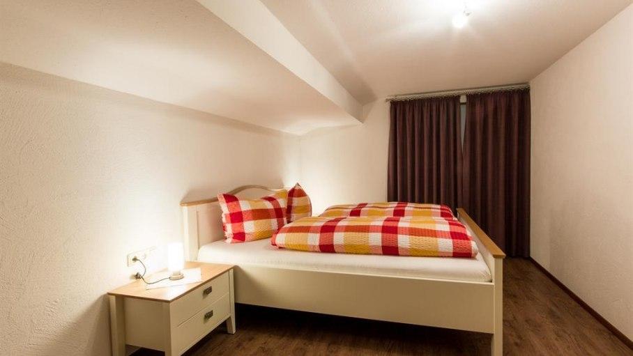 Ferienwohnung Kapplblick - Schlafzimmer 2, © Haus Schöll - Bolsterlang