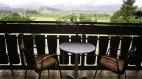 Balkon mit Sicht auf die Hörnergruppe, © Alpengasthof Sonnenkopf - Fischen i. Allgäu