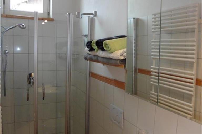 Badezimmer, © Ferienwohnung Marlies Müller - Fischen i. Allgäu