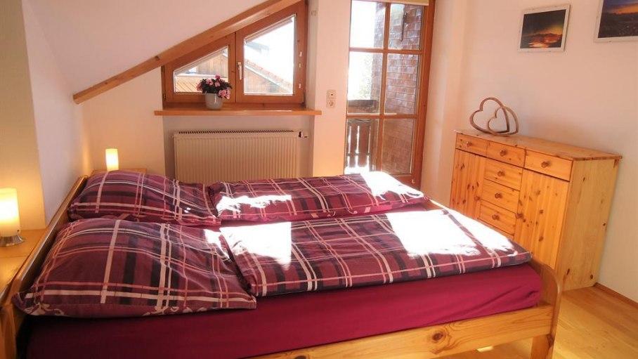 Schlafzimmer der Ferienwohnung Neuhauser, © Ferienwohnung Neuhauser