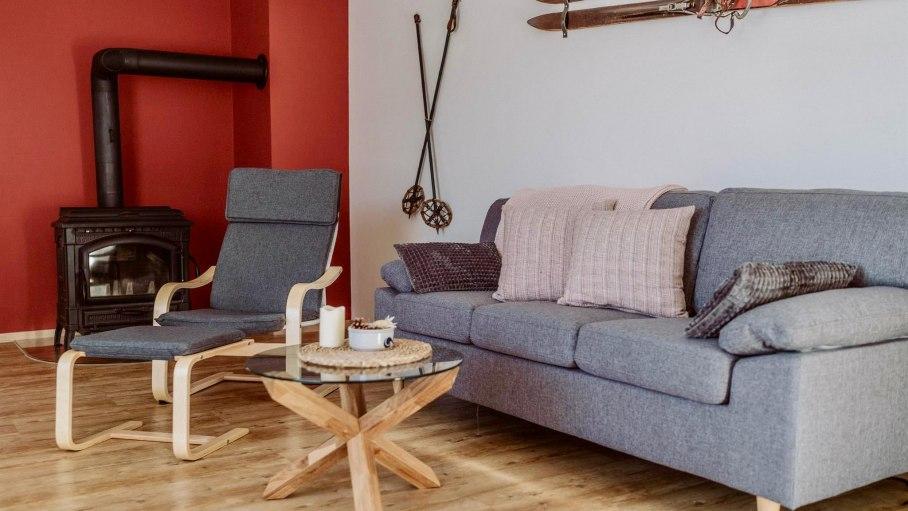 Appartement B - Wohnzimmer