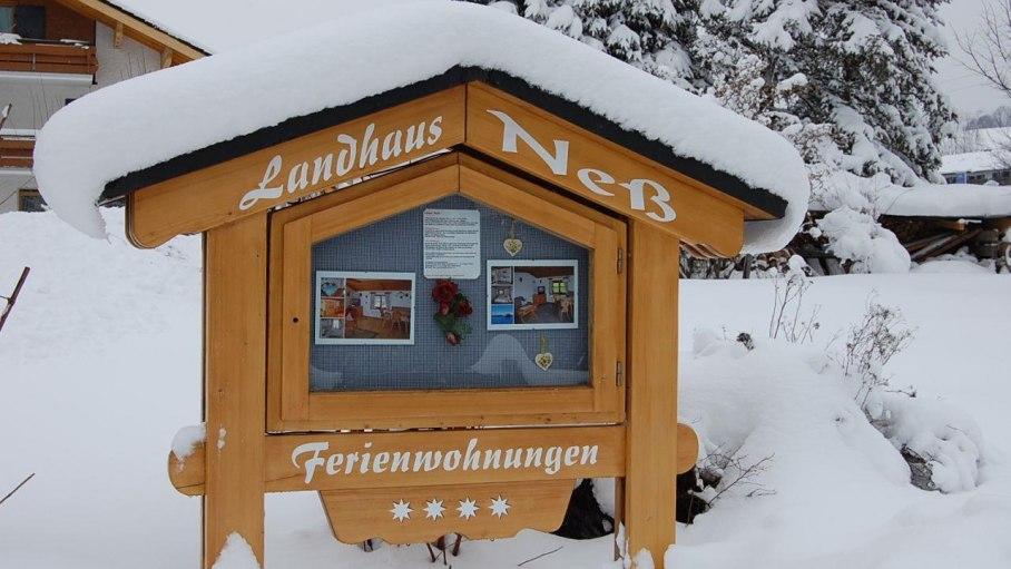 Schautafel Winter, © Hans Neß