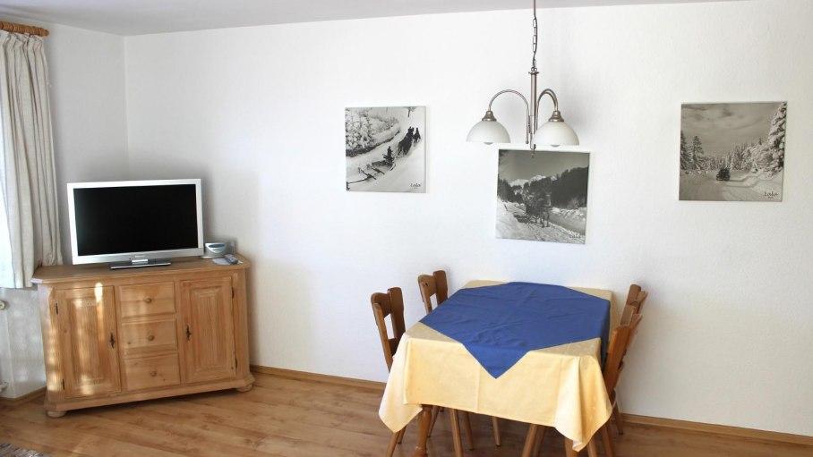 Ferienwohnung 5 - Große Wohnküche, © Gästehaus Hagelmüller - Fischen i. Allgäu