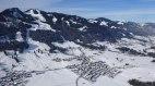 Luftbild Bolsterlang im Allgäu und Skigebiet, © Ferienhaus Riss - Bolsterlang