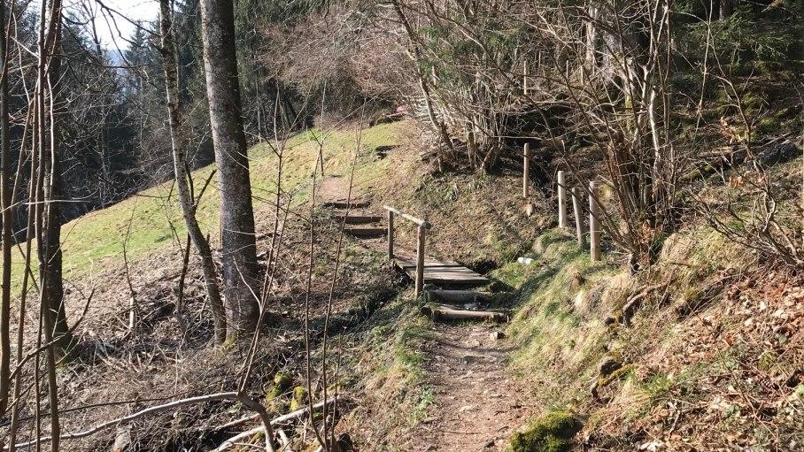 Bergblick Wanderweg
