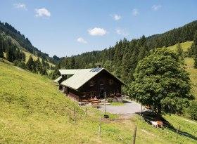 Herzberg Alpe - Obermaiselstein, © Tourismus Hörnerdörfer, F. Kjer