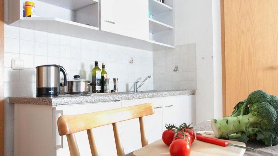 Appartement 7 - Küche, © Gästehaus Kanstein - Ofterschwang