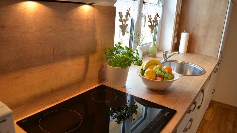 Vollausgestattete Küche in der Fewo Nebelhorn, © Alexa Ferienwohnungen in Fischen
