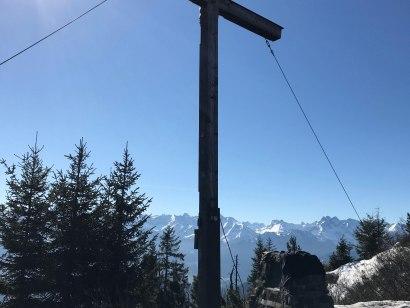 Gipfelkreuz am Bolsterlanger Horn