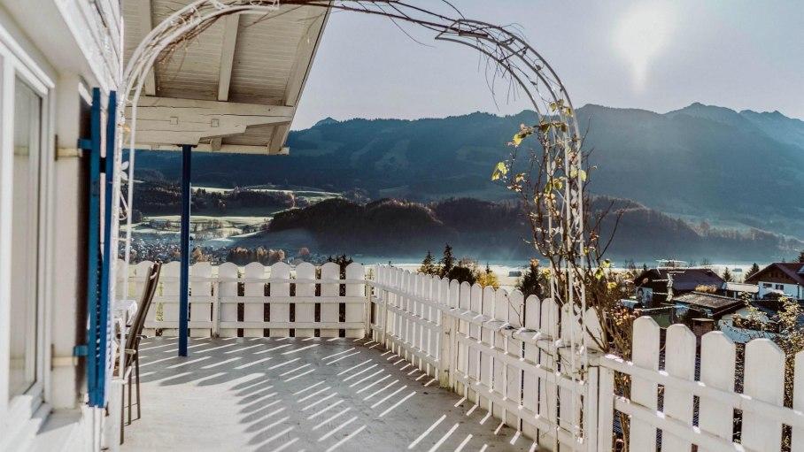 Appartement A - Balkon