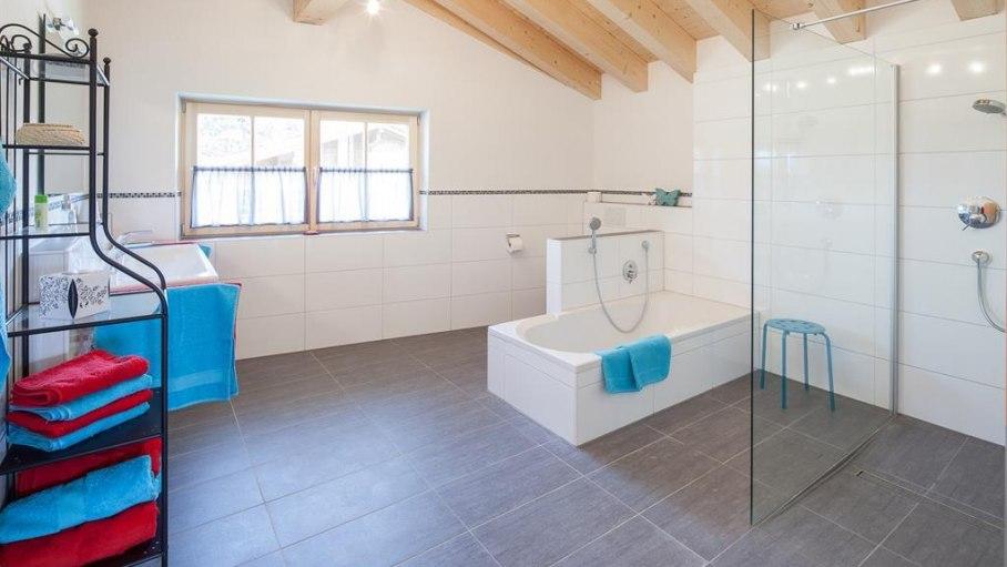 Ferienwohnung Rubihorn - Badezimmer, © Ferienwohnungen