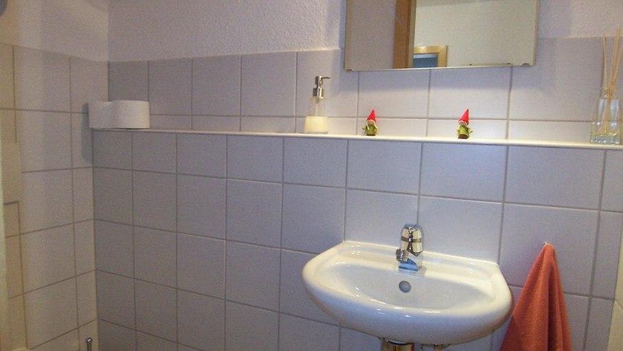 Ferienwohnung Hesse, separates WC