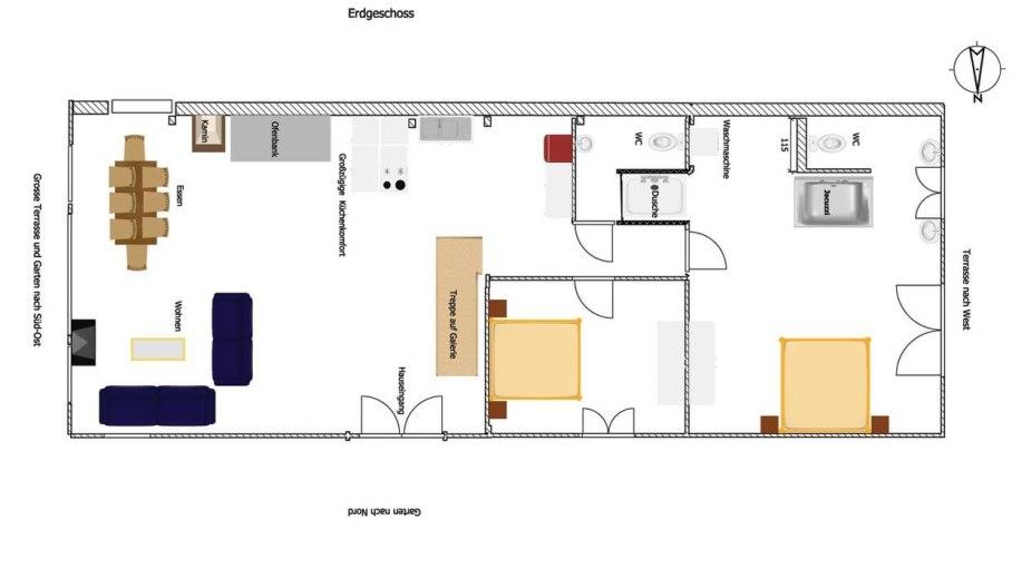 Premium Lodge - Grundriss 4 Pers. EG, © Das Talgut - Ofterschwang