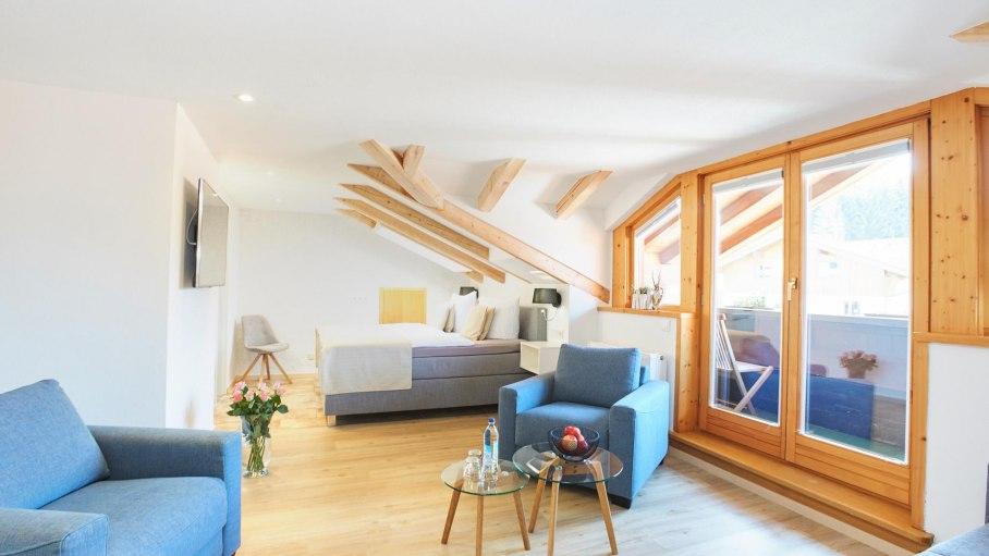 765-16 Dachzimmer Deluxe, © Alpinhotel bichl 761
