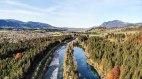 Auwaldsee und Iller im Herbst, © FeWo Speigl