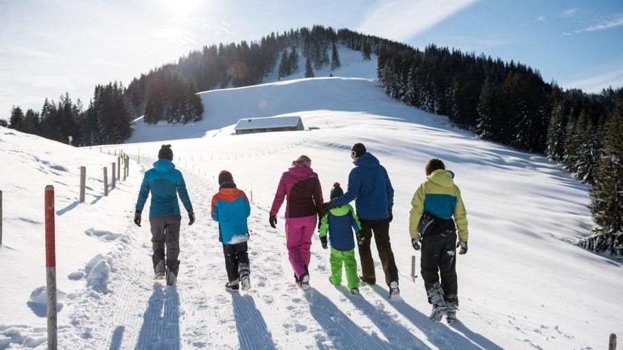 Winterwandern für die ganze Familie