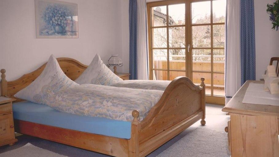 Traumhaft schlafen in der Fewo 2, © Ferienhaus Enzian - Fischen i. Allgäu