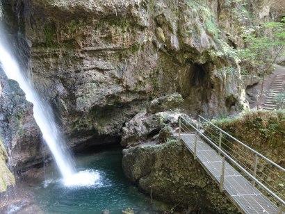 Hinanger Wasserfall, © Tourismus Hörnerdörfer